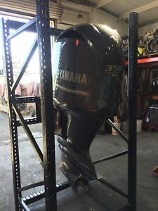 Yamaha 350 Outboard New Controls Recent Compression Test Performed.