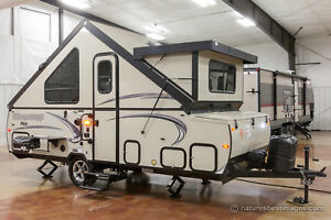 New 2018 T21TBHW A Frame Hard Side High Wall Pop Up Camping Trailer Trailer