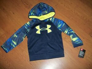 Under Armour zip up hoodie size 2t 3t 4t