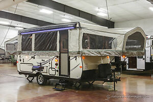 New 2018 HW27KS High Wall Side Out Fold Down Pop Up Camping Trailer Never Used