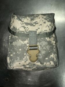 NEW Military Issue Large Utility Pouch ACU IFAK MOLLE First Aid Pouch New New