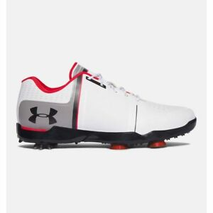 NEW BOYS JUNIOR UNDER ARMOUR SPIETH ONE GOLF SHOES 1301154 108-SIZE 5Y