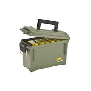 Plano Tactical Custom Ammo Box Can Field Ammunition Case Plastic Water Resistant