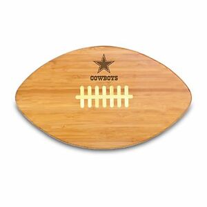 NFL Cowboys Touchdown Pro Bamboo Cutting Board , MSRP $36, Picnic Time
