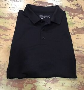 Boys Nike Fit Dry Black Golf Polo Shirt Youth XL 18-20
