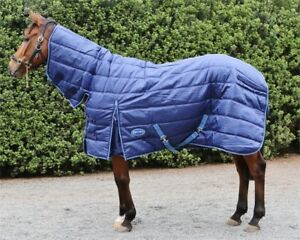 Barnsby Equestrian 420D210D Denier With Neck Combo Horse Stable Rug  Blanket