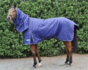 Barnsby Equestrian Waterproof Horse Winter BlanketTurnout Rug With Neck Combo