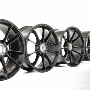 Original Porsche 991 20 inch GT3 RS 911R wheel rims alu rims 9J 12J black NEW