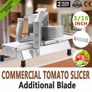 Commercial Fruits Tomato Slicer Cutter 3/16