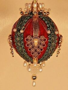 Victorian Style Christmas Tree Ornaments quot;Gwynnethquot; $12.00