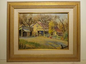 12x16 org. 1945 oil painting by Rolla Taylor of