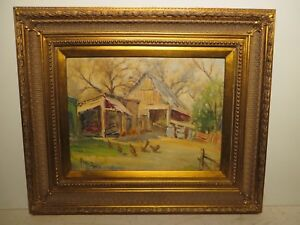 12x16 org. 1960 oil painting by Rolla Taylor of