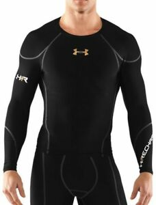 NEW UNDER ARMOUR RECHARGE ENERGY SECOND SKIN COMPRESSION SHIRT Sz XL 1231252