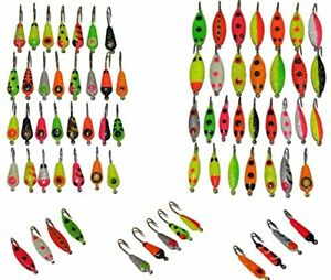 Premium Ice Fishing Lure Kit - Anglers World of Jigs - Ice Fishing Lure Lures