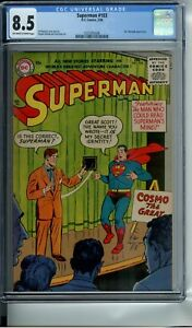 SUPERMAN #103 CGC 8.5 OWW PAGES 3RD HIGHEST GRADED - ONLY 2 COPIES HIGHER !!!