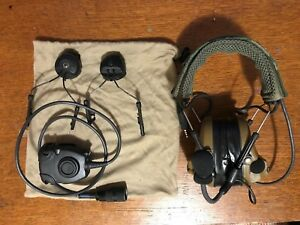 3M Peltor Comtac III Single Coms.Ear Pro. With ARC Ops-Core Rail Adapter