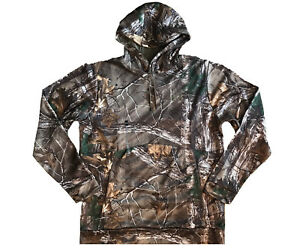 Under Armour Mens Big and Tall Storm Camo Hoodie Hunting Realtree  3XLT