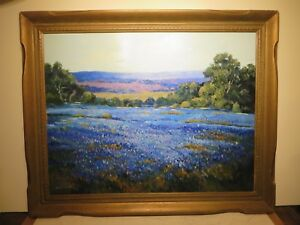31x40 original oil painting on board by Hardy Martin