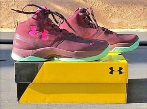 UNDER ARMOUR SC Stephen Curry HI BHM BGS Kids Shoes NEW 7Y (1270817-601)