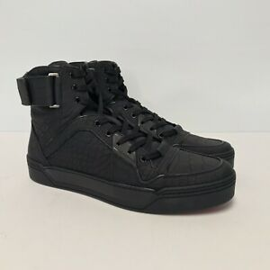 L-39421369 New Gucci Crocodile Skin Sneakers US 10.5 Marked 9.5 Only 50 Made!!!