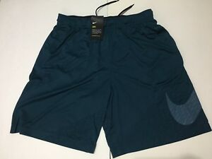 Nike Men's Dri-Fit Embossed Shorts Sports LARGE NEW! 860567 425