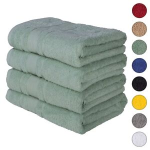 NEW TEAL GREEN Color ULTRA SUPER SOFT LUXURY PURE TURKISH 100% COTTON BATH TOWEL