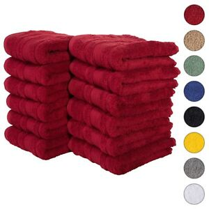 NEW BURGUNDY Color ULTRA SUPER SOFT LUXURY PURE TURKISH 100% COTTON HAND TOWELS