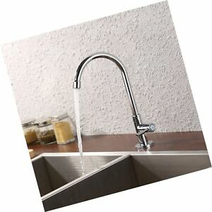 KES Lead-Free Kitchen Sink Faucet For Cold Water Only Single Handle Bar Moder...