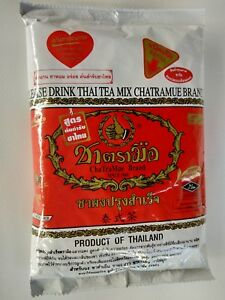 Thai Milk Tea Original Mix Hot Tea,Cold Tea,Thailand Number One Brand 190 g