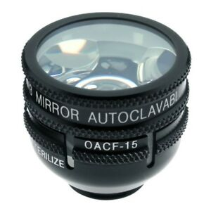 Ocular Autoclavable Three Mirror 10mm Lens with 15mm Flange OG3MAC 15