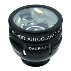 Ocular Autoclavable Three Mirror 10mm Lens with 17mm Flange OG3MAC 17