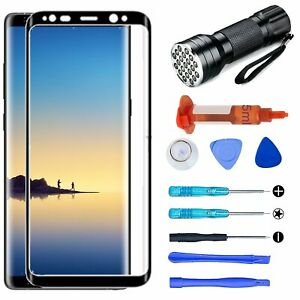 For Samsung Galaxy S8 S9 PlusNote 8 9 Front Screen Glass Lens Replacement Tools