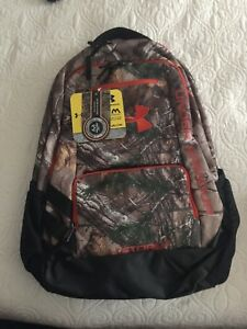 Under Armour Camo Hustle 30.7L Backpacks - Realtree Camo