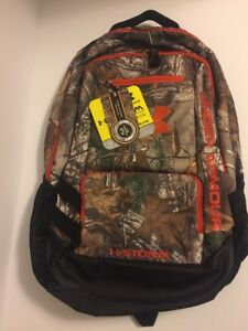 New Under Armour Camo Hustle Backpack Realtree Ap-XtraDynamite One Size Unisex