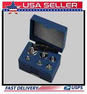 RELOADING SCALE CALIBRATION KIT WITH 6 CERTIFIED WEIGHTS IN A STORAGE CASE