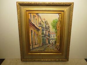20x16 original 1950 oil painting by Rolla Taylor of