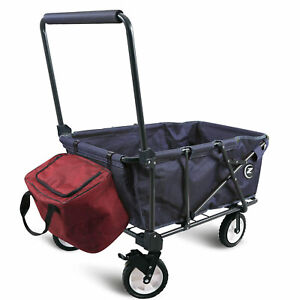 REDCAMP Collapsible Wagon Cart Folding Utility Wagon Outdoor Camping Beach Sport