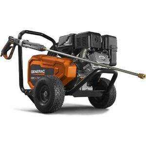 NEW! GENERAC Commercial Belt Drive Gas Pressure Washer - 3800 PSI 3.2 GPM!!