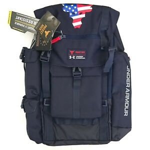 New Under Armour Freedom Project Rock Regiment Water Resistant Backpack