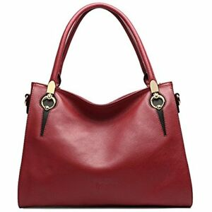 CLEARANCE CALLAGHAN Women's Genuine Leather Top Handle Handbags Large Capacity