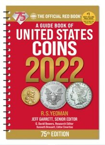 New 2022 Official Red Book Redbook Guide Of US Coins Price List Catalog Spiral $13.49