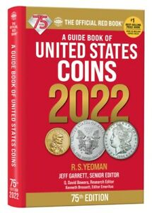 New 2022 Red Book Guide of United States Coin US Price List Hidden Spiral 75th $14.99