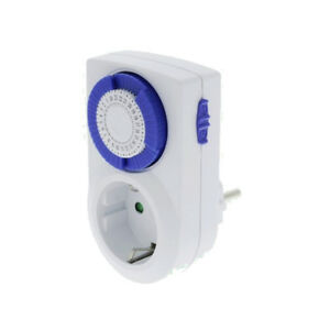 Analog Day Timer Mechanical 002 Child Protection 230V 16A Time Switch