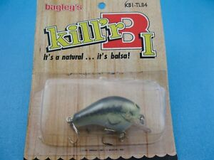 VINTAGE BAGLEY KILL'R B1- BRASS HARDWARE-TRUE LIFE - UNFISHED IN PACKAGE-FLORIDA