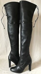 Stuart Weitzman 'Highland' Over the Knee Boot Leather Size 8