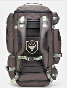 Under Armour Project Rock USDNA UA Cordura Regiment Duffel Bag Backpack Camo