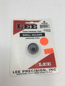 90208 * LEE AUTO PRIME HAND PRIMING TOOL SHELL HOLDER * #8