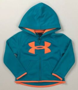 Toddler Girl's Under Armour Full Zip Hoodie NEW WITHOUT TAGS