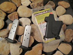 2-Pack Fits Sig EXTENDED p238 380 .380 7-RD Mag Mags + BABY UPLULA SPEEDLOADER