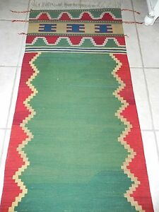 Vintage Anatolian Slit-Weave Kilim Boca Estate Turkish Wool Runner Rug 113